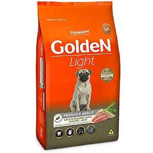Ração Golden Formula Cães Adultos Light Mini Bits Frango e Arroz 10,1kg