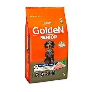 Ração  Golden Formula Cães Sênior Mini Bits Frango e Arroz 3kg