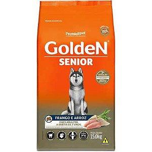 Ração Golden Formula Cães Sênior Frango e Arroz 15kg