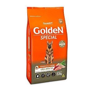 Ração Golden Special Cães Adultos Frango e Carne 15kg
