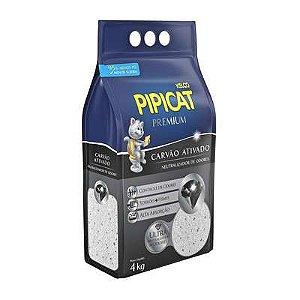 Granulado Sanitário Pipicat Premium Carvão Ativado 4kg