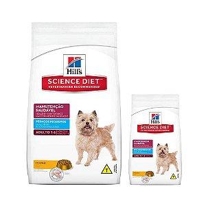 Ração Hill's Canino Adulto Manutenção Saudável Pedaços Pequenos 15kg