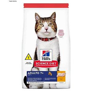 Ração Hill's Science Diet Feline Adulto 7+ 6kg