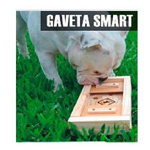 Brinquedo Gaveta Smart Madeira Cão Sentinela