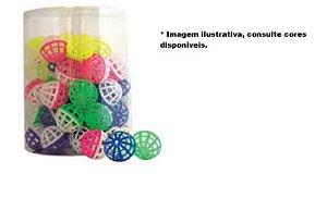 Brinquedo Para Gatos Bola Plástica Com Guizo - Unidade