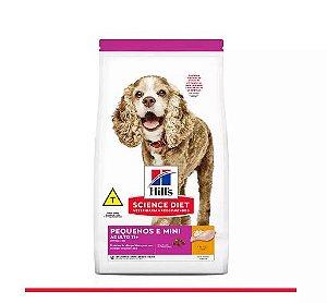 Ração Hill's Science Diet Canino +11 Anos Raças Pequenas e Miniaturas 2,4kg