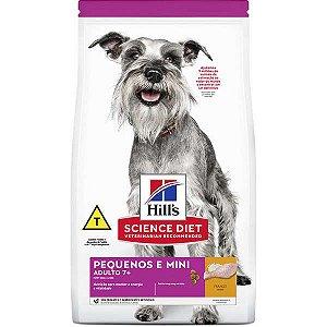 Ração Hill's Science Diet Canino Raças Pequenas e Miniaturas Adulto 7+ 2,4kg