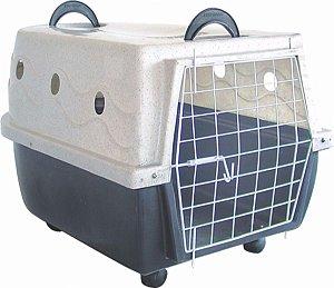 Caixa de Transporte Plástica Nº 3 Ideal Dog          *Imagem Meramente Ilustrativa*