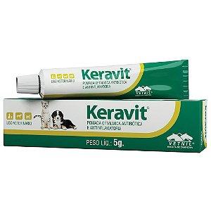 Pomada Oftalmológica Keravit Vetnil  5g