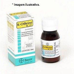 Inseticida K-Othrine SC 25 30ml
