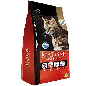 Ração Farmina Matisse Carne e Arroz para Gatos Adultos 7,5kg