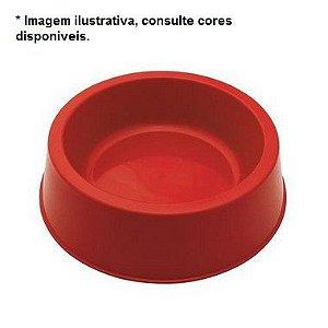 Comedouro Plástico Grande com Antiderrapante - Solicitar Cores