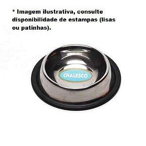 Comedouro de Inox PP Antiderrapante 240ml