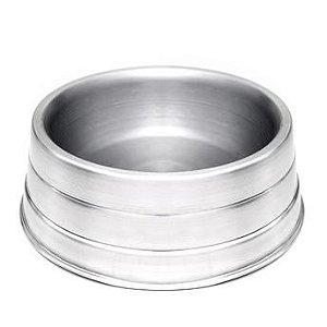 Comedouro Pesado de Alumínio Médio - AviPet            *Imagem Meramente Ilustrativa*
