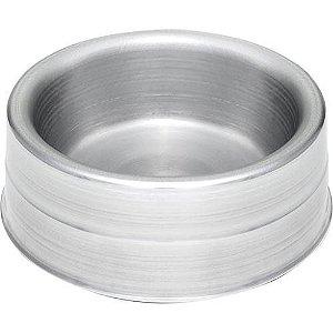 Comedouro Pesado de Alumínio Pequeno - AviPet            *Imagem Meramente Ilustrativa*