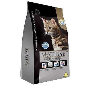 Ração Farmina Matisse Frango para Gatos Adultos Castrados 7,5kg