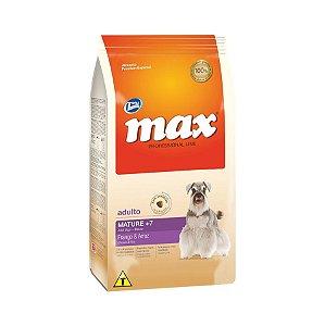 Ração Max Cães Senior Mature +7 Sabor Frango 15kg
