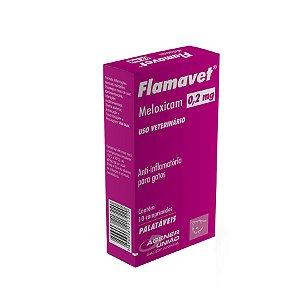 Anti-inflamatório para Gatos Flamavet - 0,2mg