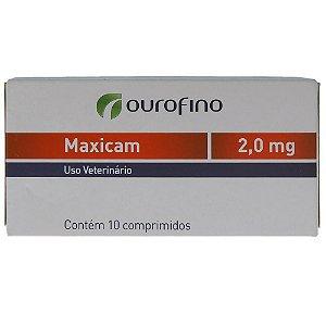 Anti-inflamatório Ouro Fino Maxicam 2,0 mg - 10 Comprimidos