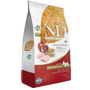 Ração Farmina N&D Low Grain Frango Cães Adultos Raças Pequenas 2,5kg