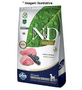 Ração Farmina N&D Grain Free Prime Cordeiro Cães Adultos Raças Médias 10,1kg