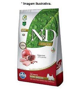 Ração Farmina N&D Grain Free Prime Frango para Cães Adultos de Raças Pequenas 10,1kg