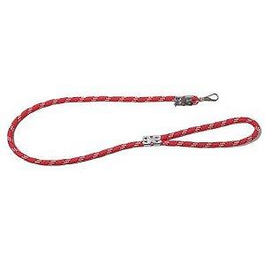 Guia Corda Roliça Grossa 1,30m - Vermelha