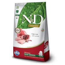 Ração N&D Grain Free Prime Para Cães Filhotes de Raças Grandes Sabor Frango 10,1kg