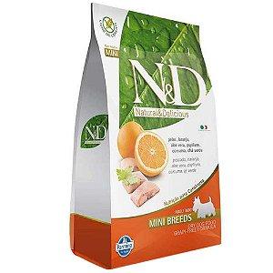 Ração Farmina N&D Grain Free Peixe Cães Adultos de Raças Pequenas 2,5kg