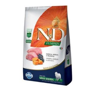 N&D Canine Grain Free Pumpkin Cordeiro Maxi Breeds 10,1kg