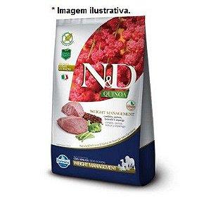 Ração N&D Quinoa Weight Management Cordeiro  Cães Adultos de Todas as Raças 2,5kg