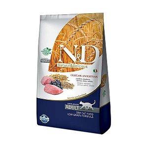 Ração Farmina N&D Low Grain Cordeiro para Gatos Adultos 1,5kg