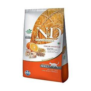 Ração Farmina N&D Low Grain Peixe para Gatos Adultos 1,5kg