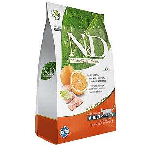 Ração Farmina N&D Grain Free Peixe para Gatos Adultos 1,5kg