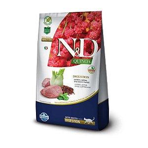 Ração Farmina N&D Quinoa Digestion Cordeiro para Gatos Adultos 1,5kg