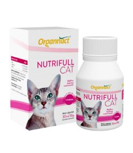 Suplemento Alimentar Nutrifull Organnact Cat - 30ml