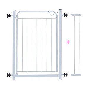 Portão Pet de Segurança com Prolongador 10cm