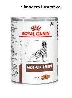 Ração Úmida Royal Canin Lata Canine Veterinary Diet Gastro Intestinal 400g