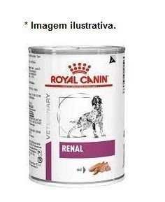 Ração Úmida Royal Canin Lata Canine Veterinary Renal - 410g