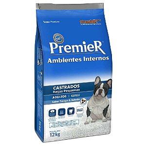 Ração Premier Pet Ambiente Interno Cães Castrados 12kg