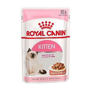 Ração Royal Canin Sachê Feline Kitten - 85g              *Imagem Meramente Ilustrativa*