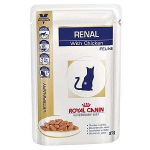 Ração Úmida Royal Canin Feline Veterinary Diet Renal Wet - 85g       *Imagem Meramente Ilustrativa*