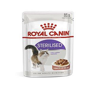 Ração Royal Canin Sachê Feline Sterilised - 85g               *Imagem Meramente Ilustrativa*