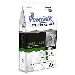 Ração Premier Nutrição Clínica Obesidade para Cães Adultos Médio e Grande Portes 10,1kg