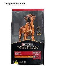 Ração Nestlé Purina Pro Plan Frango para Cães Adultos Porte Grandes 15kg