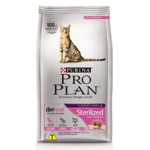 Ração Purina Pro Plan Sterilized para Gatos Adultos Castrados 1,5kg