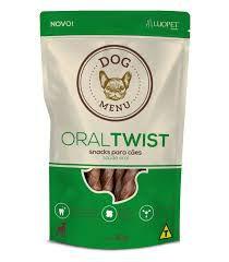 Petisco Luopet Dog Menu Oral Twist - 60g          *Imagem Meramente Ilustrativa*