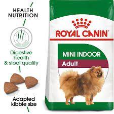 Ração Royal Canin Mini Indoor Adult para Cães Adultos de Raças Pequenas 2,5kg