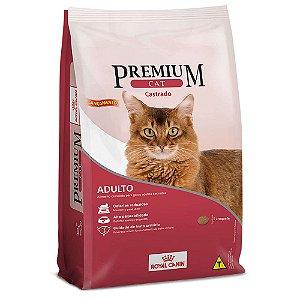Ração Royal Canin Premium Cat para Gatos Adultos Castrados 10,1kg