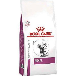Ração Royal Canin Feline Veterinary Diet Renal para Gatos com Doenças Renais 10kg